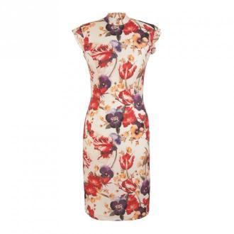 Nife Dress Sukienki Beżowy Dorośli Kobiety Rozmiar: 2XL - 44