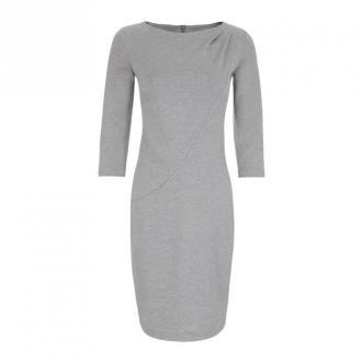 Nife Dress Sukienki Szary Dorośli Kobiety Rozmiar: 2XL - 44