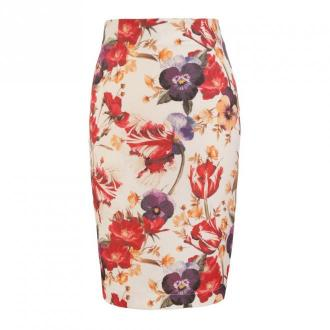 Nife Skirt Spódnice Beżowy Dorośli Kobiety Rozmiar: 40