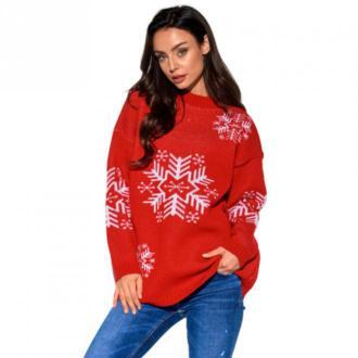 Sweter Śnieżynka