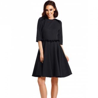 Lemoniade Sukienka z falbankami Sukienki Czarny Dorośli Kobiety