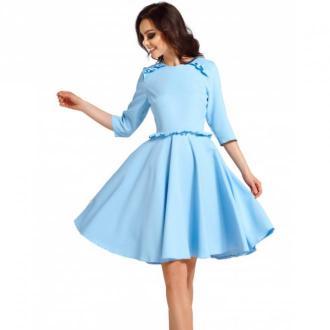 Lemoniade Sukienka z falbankami Sukienki Niebieski Dorośli Kobiety