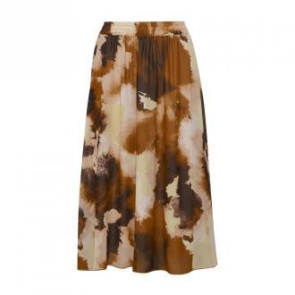Saint Tropez Camea skirt Spódnice Brązowy Dorośli Kobiety Rozmiar: XL