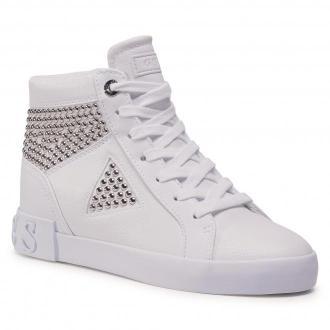 Sneakersy GUESS - Petur FL7PER ELE12 WHITE