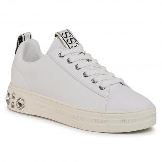 Sneakersy GUESS - Rivet FL7RIT ELE12 WHITE