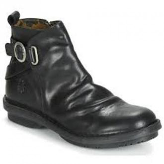 Fly London Boots - Rye Diesel Obuwie Czarny Dorośli Kobiety Rozmiar: