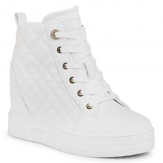 Sneakersy GUESS - Fase FL7FAE ELE12 WHITE