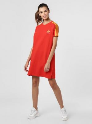 adidas Originals - Sukienka damska, czerwony