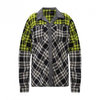 Diesel Koszula w kratę Bluzki i koszule Szary Dorośli Kobiety Rozmiar: