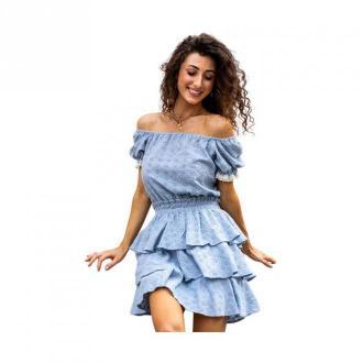 Angell Sukienka Lily Sukienki Niebieski Dorośli Kobiety Rozmiar: S