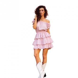 Angell Sukienka Lily Sukienki Różowy Dorośli Kobiety Rozmiar: M/L