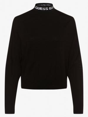 GUESS - Sweter damski, czarny
