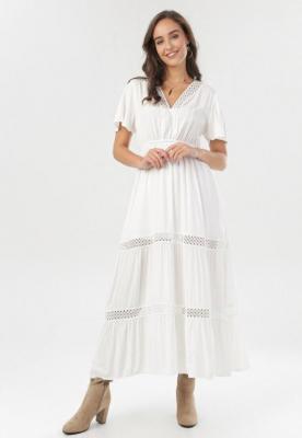 Biała Sukienka Selphie