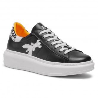 Sneakersy PATRIZIA PEPE - 2V9708/A3KW-FB19 Black/Orange