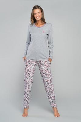Italian Fashion Bimala dł.r. dł.sp. Nocna piżama - melanż/druk