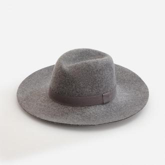 Reserved - Wełniany kapelusz - Szary