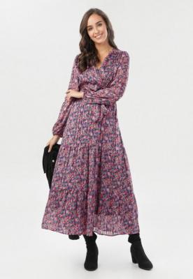 Fuksjowa Sukienka Kelysh