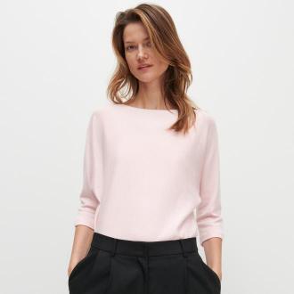 Reserved - Sweter z wiskozą - Różowy