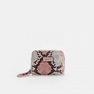 Mohito - Mały portfel z motywem skóry węża - Wielobarwny