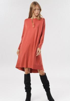 Łososiowa Sukienka Fyrelnore