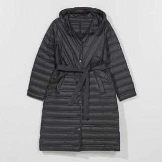 Mohito - Pikowany płaszcz z kapturem -