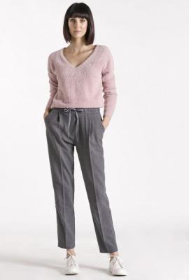Sweter z wiązaniem z tyłu