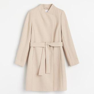 Reserved - Płaszcz z wełną - Beżowy