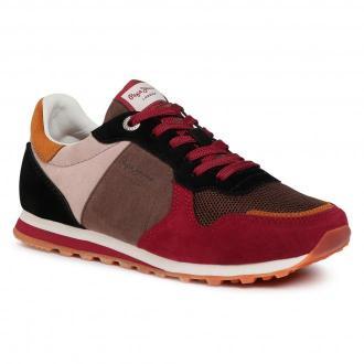 Sneakersy PEPE JEANS - Verona W Multi PLS31034 Burnt Red 286