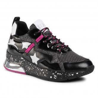 Sneakersy LIU JO - Karlie 35 BF0029 TX071 Black 22222