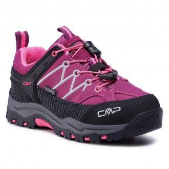 Trekkingi CMP - Kids Rigel Mid Trekking Shoe Wp 3Q13244  Berry/Pink Fluo 05HF