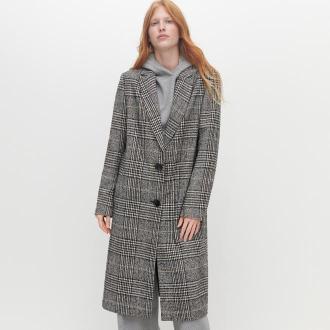 Reserved - Płaszcz w kratę - Wielobarwny