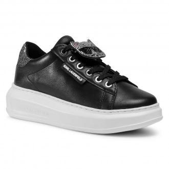 Sneakersy KARL LAGERFELD - KL62576 Black Lthr.