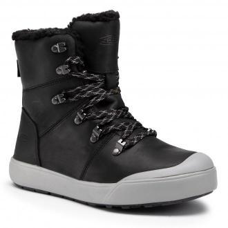 Śniegowce KEEN - Elena Hiker Boot Wp 1023573 Black/Drizzle
