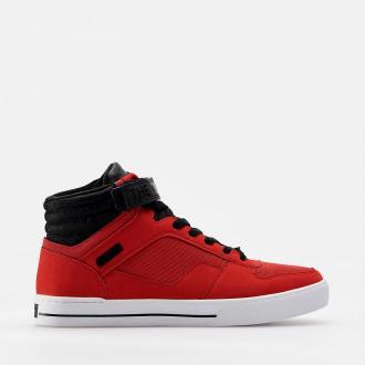 Cropp - Sneakersy za kostkę - Czerwony