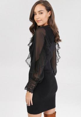 Czarna Sukienka Irinlea