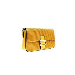 żółta torebka Graceland na pasku