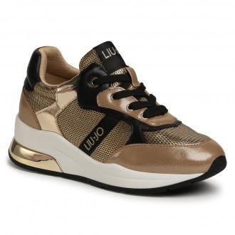 Sneakersy LIU JO - Karlie 159 4F0787 EX013 Platinum 04078