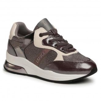 Sneakersy LIU JO - Karlie 159 4F0787 EX013 Steel S1034