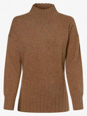 Apriori - Damski sweter z wełny merino, brązowy