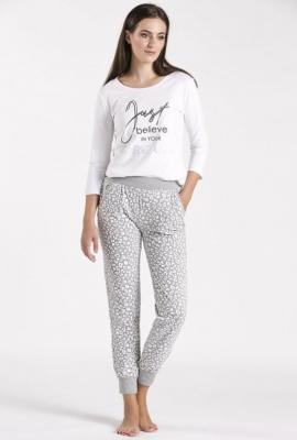 Dół od piżamy z wzorem w cętki