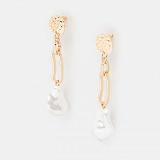 Mohito - Kolczyki z masą perłową -