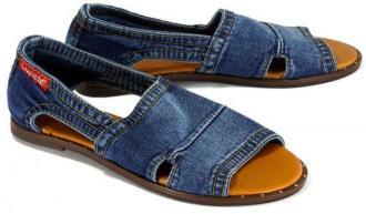 LANQIER 42C0193 jeans, sandały damskie