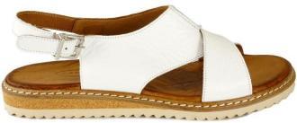 LANQIER 46C0999 biały, sandały damskie
