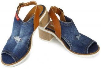 LANQIER 44C0120 jeans, sandały damskie