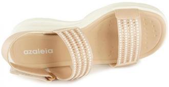 AZALEIA 330/561 (84) tan, sandały damskie