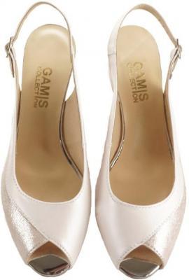 GAMIS COLLECTION 3646 A69+A62 różowy, sandały damskie