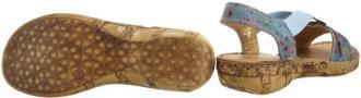 COMFORTABEL 710954-5 denim, sandały damskie