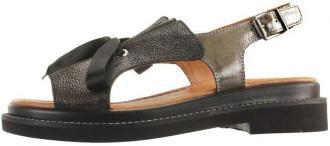 LANQIER 44C1078 black, sandały damskie