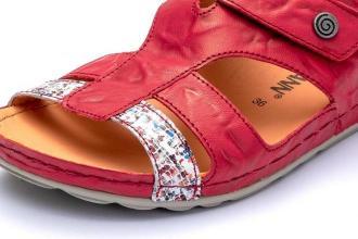 DR. BRINKMANN 710960-4 rot, sandały damskie