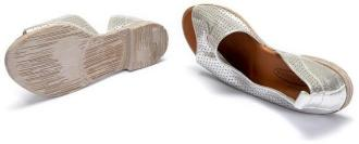 LANQIER 44C0696 srebrny, sandały damskie
